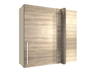 1 door blind corner WALL cabinet (BLIND ON RIGHT)