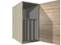 1 door TRAY DIVIDER wall cabinet