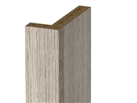 Two piece closet filler (VERTICAL grain)