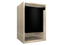 "Closet Hamper Cabinet (18"" wide hamper, 19.50"" wide cabinet)"