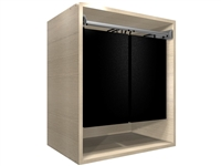 "Closet Hamper Cabinet (24"" wide hamper, 25.50"" wide cabinet)"