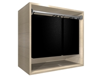 "Closet Hamper Cabinet (30"" wide hamper, 31.50"" wide cabinet)"