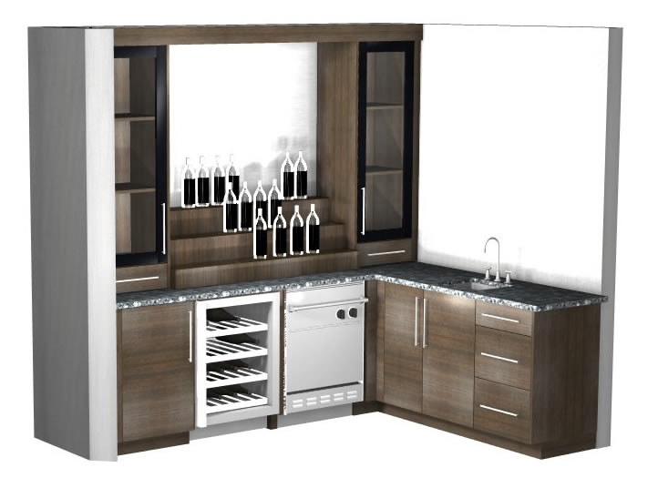 Barker Modern Sells High End Fully Custom Bar Cabinets Directly To The  General Public. Choose From A Wide Variety Of Colors And Enjoy Fully Custom  Cabinet ...