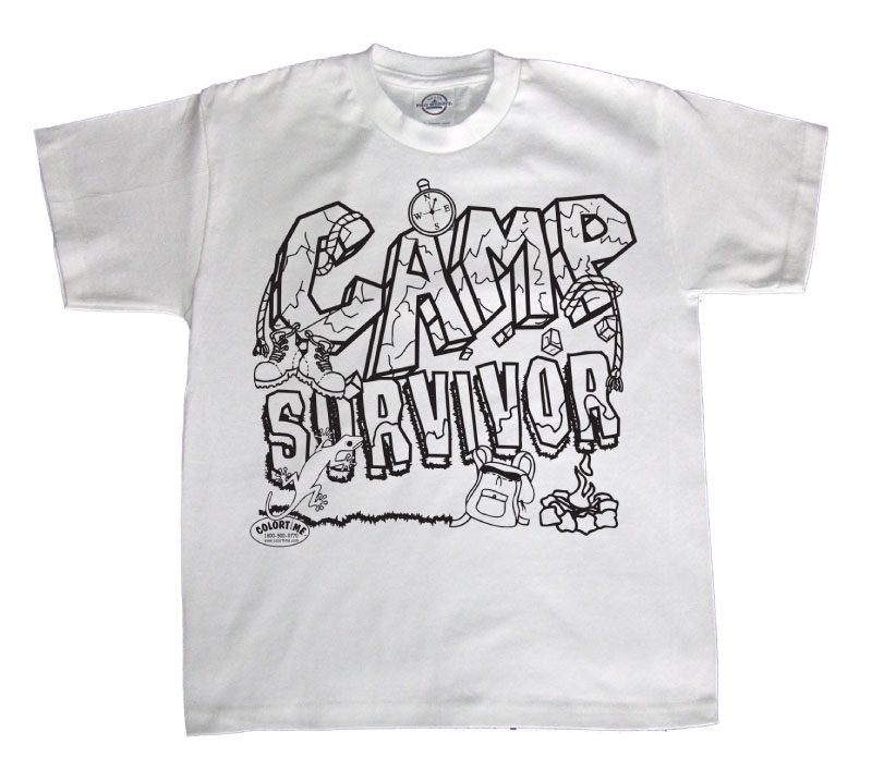 Camp Survivor T Shirt