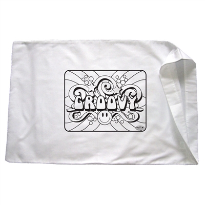 Groovy Pillowcase