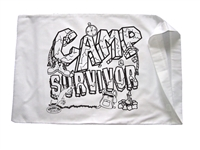 Camp Survivor Pillowcase