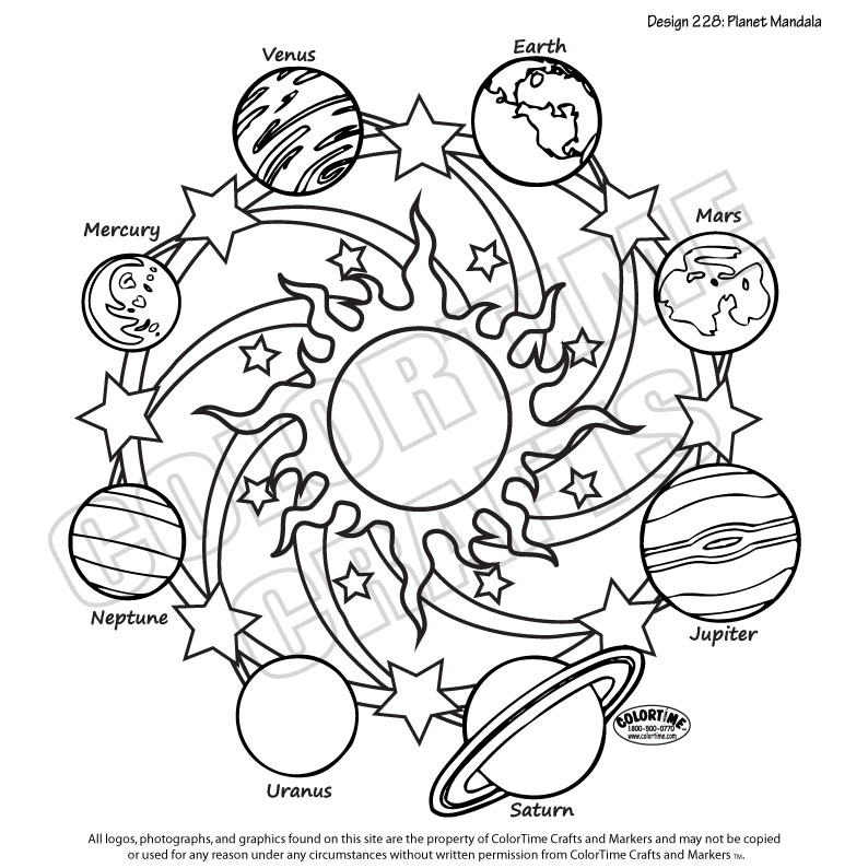 228 Planet Mandala