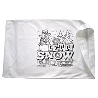 Let it Snow Pillowcase