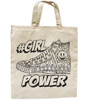 #Girl Power Tote Bag