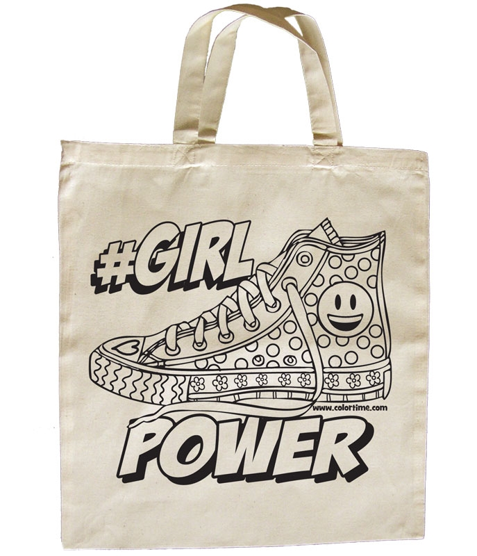 Girl Power Forever Eco Tote Bag