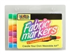 Fabric Markers Economy Pack - Fluorescent