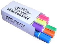 Bright Value Pack of Fabric Markers