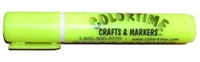 Fabric Marker - Fluorescent Yellow