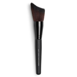 Professional Soft Curve Face & Cheek Facial Brush | Organic Skincare, Natural Make Up, Vegan Blush Brushes