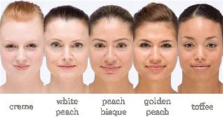 100 Percent Pure Flawless Skin Foundation Powder With