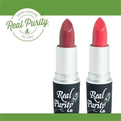 Real Purity Mineral All Natural Lipstick | Natural Make Up, Organic Cosmetics, All Natural Cosmetic, Gluten Free Beauty