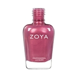 ZOYA Nail Lacquer Maryann Pink Rose Glow Pearl | Pink Nail Polish, Safer Nail Enamels, Natural Make Up