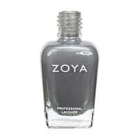 Zoya Tao Light Smoke Grey Metallic Nail Polish | Toxic Free Nail Polish, Safer Nail Enamels, Natural Make Up