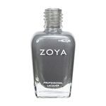 ZOYA Professional Nail Lacquer Hazel Blue Green Metallic | Camphor Free Nail Polish, Safer Nail Enamels, Holistic Beauty Salon Products