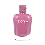 ZOYA Jenna Dusty Rose Pink Cream Nail Polish | Pink Fingernail Polish, Safer Nail Enamels, Best Non-Toxic Nail Polishes