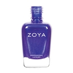 ZOYA Professional Nail Isa Deep Blue-Purple Polish | Camphor Free Nail Polish, Safer Nail Enamels, Natural Make Up