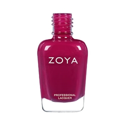ZOYA Professional Nail Lacquer Courtney Deep Red | Camphor Free Nail Polish, Safer Nail Enamels, Natural Make Up