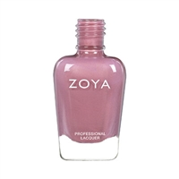 ZOYA Rumor Mauve Taupe Pearl Nail Polish | Pink Fingernail Polish, Safer Nail Enamels, Best Non-Toxic Nail Polishes