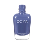 Zoya Aire Dusty Periwinkle Blue Nail Polish | Toxic Free Nail Polish, Safer Nail Enamels, Natural Make Up