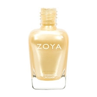 ZOYA Professional Nail Lacquer Brooklyn White-Gold Metallic | Camphor Free Nail Polish, Safer Nail Enamels, Natural Make Up