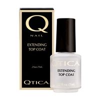 Qtica Extending Top Coat | Toluene Free Nail Seals, zoya nail treatments, dibutyl phthalate free nail products