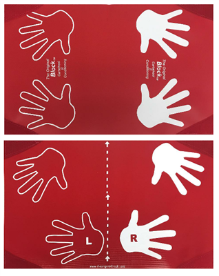 The Orginal Block / Round Off Small Hands Progression Mat