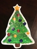 Velcro Christmas Tree Shapes Set of 6