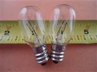 """20 LED Light Bulb Juki HZL-E61,HZL-E70,HZL-E71,MO103 MO134 7//16/"""" Screw in Type"""