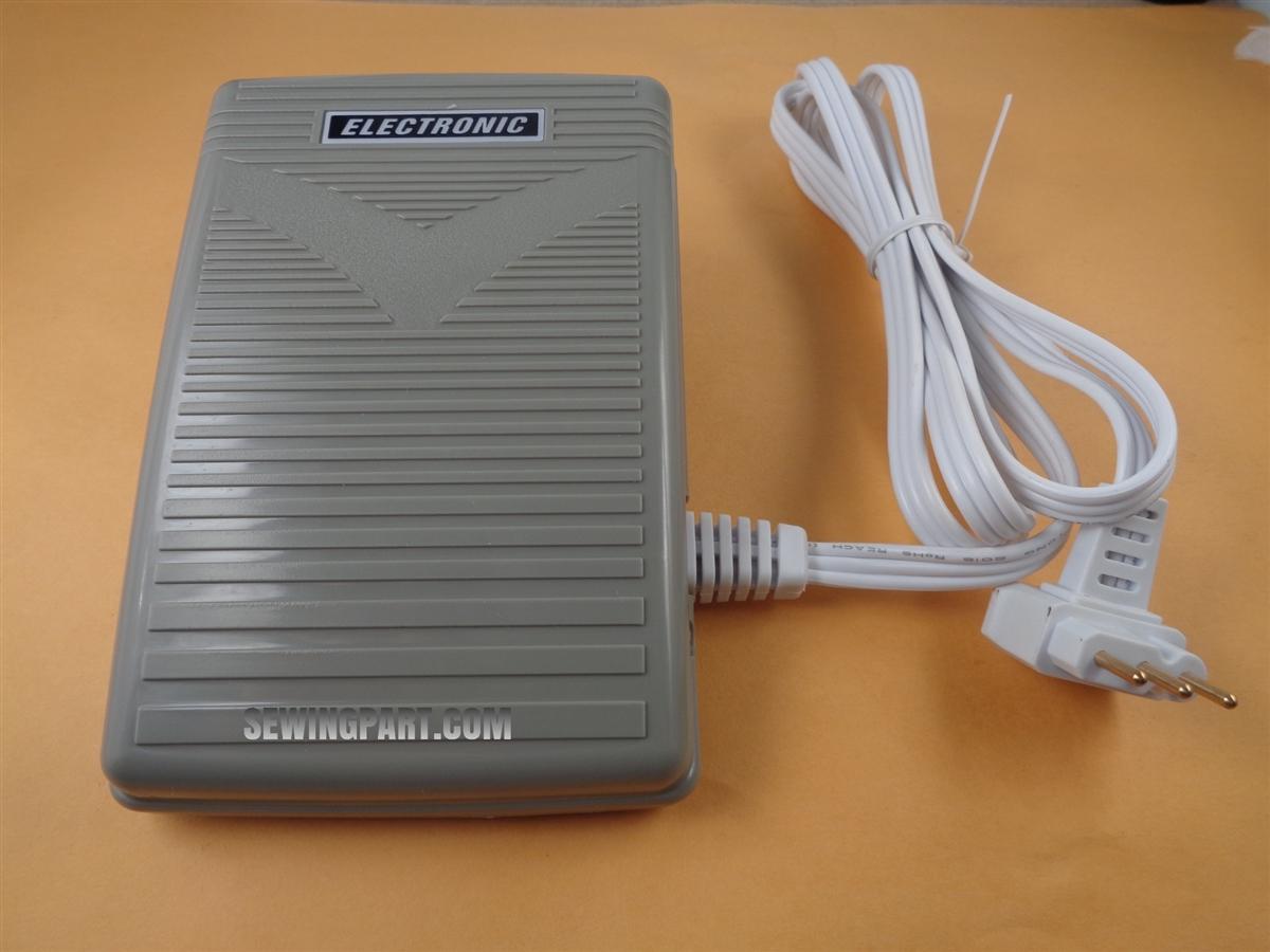 FOOT CONTROL PEDAL W// Cord SergeMate 5040 5040L ST600L Simplicity SA1600 SL1000