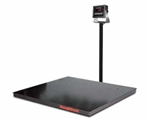 SCALE, FLOOR, 4' X 4', 5000 LB. CAP. WITH DIGITAL INDICATOR