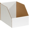"Bin Box,  8 x 18 x 10"" Jumbo Open Top Bin Box, 25/Bundle"