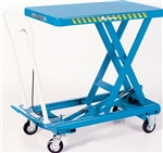 "BX-15 SCISSOR LIFT, MOBILE HEAVY DUTY, 330 LB/CAP. 27.6""x17.7"""