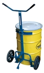 "DRUM/BARREL TRUCK, MANUAL, 800 LB CAPACITY, 24"" TO 48"" HIGH DRUMS"