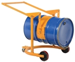 DRUM CARRIER/ROTATOR, MANUAL, 800 LB CAPACITY, 360 DEGREE ROTATION