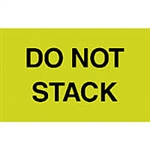 "LABELS, 3"" x 5"", DO NOT STACK, 500/ROLL"