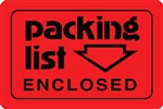 "LABELS, 2"" x 3"", PACKING LIST ENCLOSED, 500/ROLL"