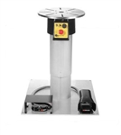 "Ergo Chief 2-Axis Motorized Rotary Work Positioner 400 lb Cap w/ 16"" Stroke Telescopic Pillar & Base"