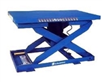 "EZU-15 LIFT TABLE, PNEUMATIC, 28X48"", 20"" TRAVEL, 1500 LB CAP."