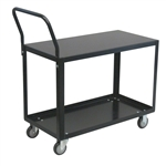 Cart, 2 Shelf Low Profile 18x24 800# Cap Med Duty Boxed