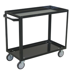 Cart, 2 Shelf Service 24x36 800# Cap Med Duty Boxed