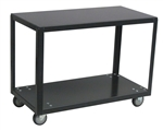 Mobile Table 2 Shelf 18x24 800# Cap Med Duty Boxed