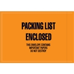 "4 1/2"" x 6"" - Mil-Spec ""Packing List Enclosed"" Envelopes 1000/Case"