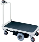"MOTO-CART PLATFORM TRUCK, SELF PROPELLED, 26X48"", CAPACITY 1500 LB"