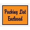 "4 1/2"" x 6"" Orange ""Packing List Enclosed"" Envelopes 1000/Case"