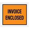 "4 1/2"" x 5 1/2"" Orange ""Invoice Enclosed"" Envelopes 1000/Case"
